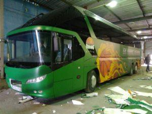 брендирование автобуса казань